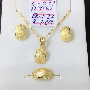 PRE ORDER ONLY 18K SOLID GOLD SET